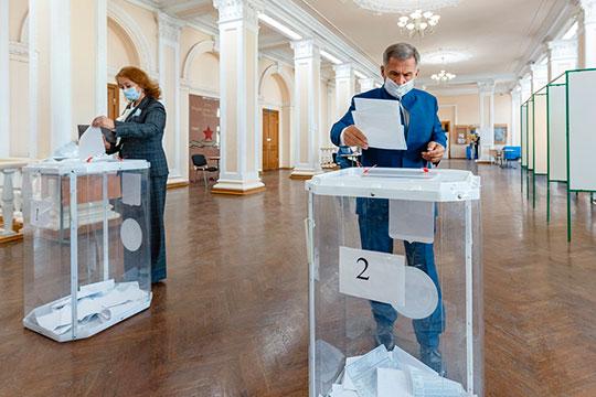 Завершился очередной избирательный цикл в Татарстане. По итогам прошедшего трехдневного голосования на выборах президента РТ уверенную победу одерживает Рустам Минниханов