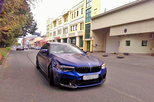 «Ехал натренировку, девушка задела автомобиль»: самый дорогой игрок «Рубина» угодил вДТП