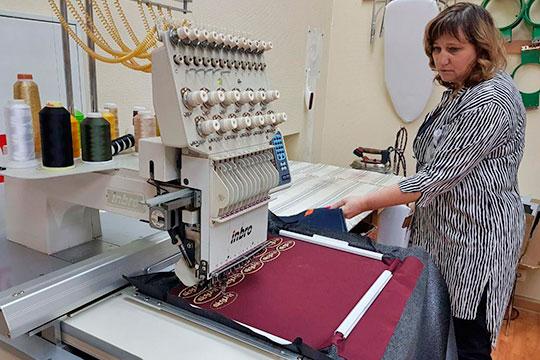 Ирина Купряхина — председатель правления Союза предпринимателей текстильной и легкой промышленности РТ, генеральный директор ООО «Швейная мастерская «Ирэн»