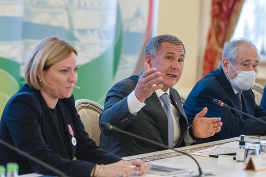 Рустам Минниханов:«Развитие культуры— приоритетное направление государственной политики республики. Это то, чем мыпоправу гордимся»