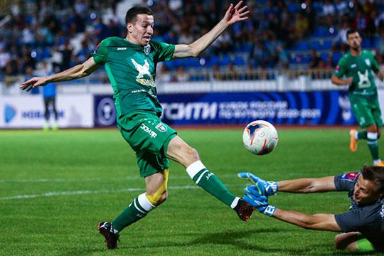 Лучший бомбардир «Рубина» Денис Макаров забил два гола после выхода на замену — это уже классика