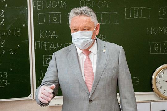 Вице-премьер — министр образования и науки Татарстана Рафис Бурганов официально ушел в отставку