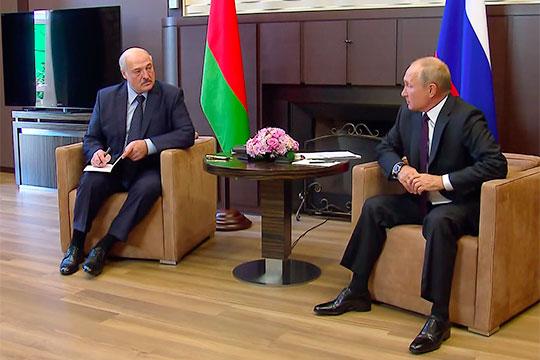 В минувший понедельник Владимир Путин и Александр Лукашенко провели переговоры в Сочи