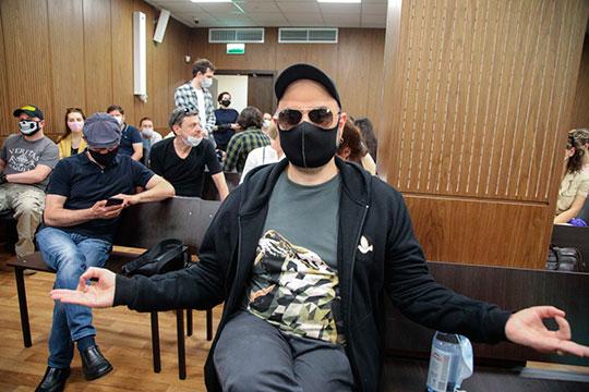 Режиссер Кирилл Серебренников перед оглашением приговора по делу «Седьмой студии»