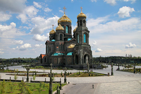 Патриарший собор Воскресения Христова посвятили 75-летию Победы вВеликой Отечественной войне