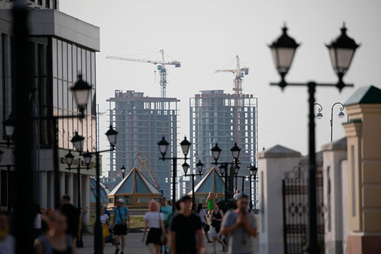 Сейчас застройщики практически перестали строить стандартное жилье в Казани, позиционируясь в «комфорте»