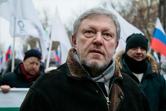 «Я не исключаю, что Навальный когда-то сможет заменить Явлинского (на фото), который пока считает, что он лидер всех либералов»
