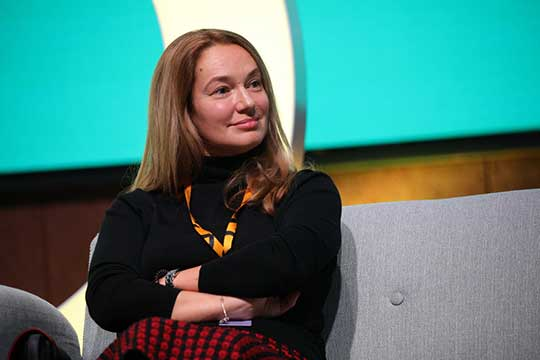 Марина Жунич:«Главный принцип— это непестовать технологии внутри страны, апомогать отечественным технологиям, способствовать ихмеждународной экспансии»