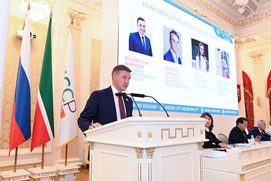 В Казани сформирован Молодежный парламент. В него вошли 25 активных молодых жителей города