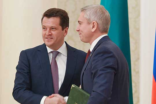 Ппервым вице-мэром Казани стал экс-глава исполкома КазаниДенис Калинкин,ранее занимавший должность руководителя исполкома