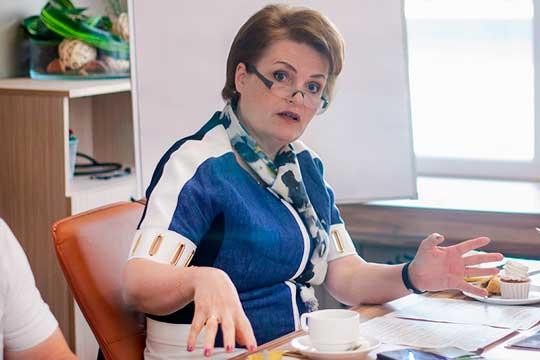 Поднялась врейтинге всвязи свыдвижением вгорсовет иректор НГПУАльфинурГалиакберова(18)