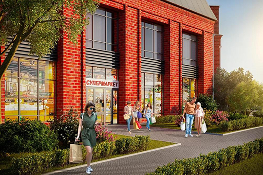 «Смородина»— это новый амбициозный проект для ГКЖИК имыособенно тщательно подошли кпроектированию планировок квартир. Концепция этого ЖК— новый семейный дом комфорт-класса»