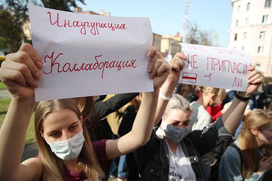 Координационный совет белорусской оппозиции заявил, что требует новых выборов ивыступает забессрочную акцию неповиновения