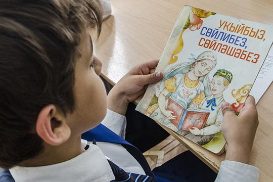 Волынец довольно активно выступала против «насильственного» преподавания второго государственного языка Татарстана