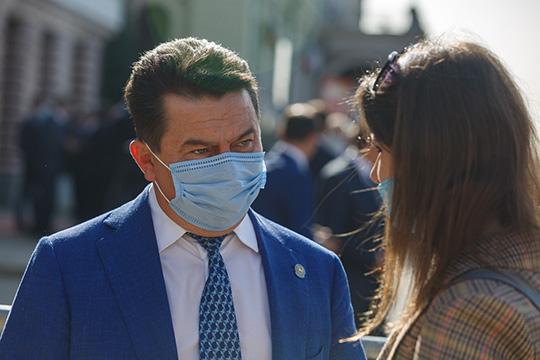 Марат Садыков: «В 2021 году мы запустим онкогематологический корпус ДРКБ. Фактически уже корпус стоит, сейчас начинаются внутренние работы»