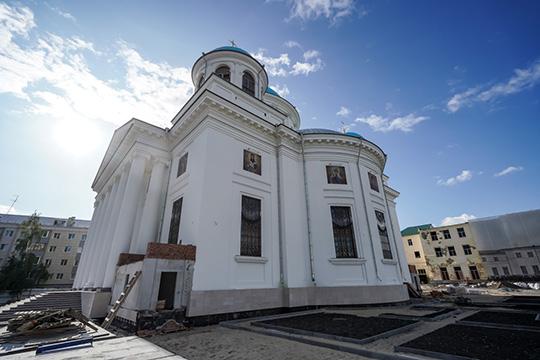 «Приближается завершение строительства воссоздаваемого собора Казанской иконы Божией Матери»