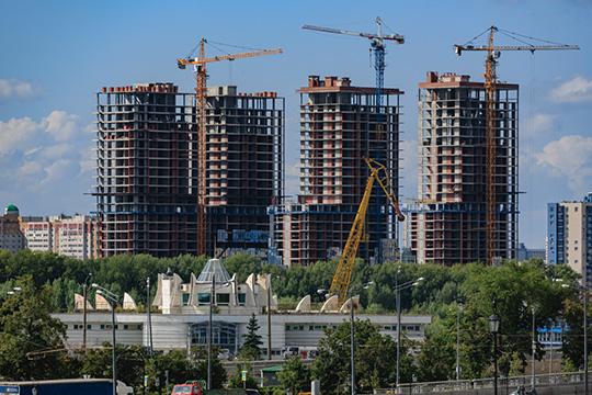 Серьезные задачи перед Татарстаном стоят в жилищном строительстве — к 2024 году ежегодный ввод жилья должен вырасти до 3,6 млн кв. метров с прошлогодних с 2,6 млн кв. метров