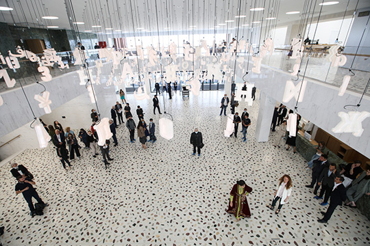 Уделил внимание президент иразвитию культуры, напомнив про обновленную Национальную библиотеку ипринятую Стратегию развития культуры Татарстана на10лет