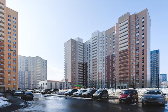 В казанском ЖК «Салават Купере» построено уже около 10 тыс квартир, а полная численность микрорайона по проекту — 50 тысяч человек