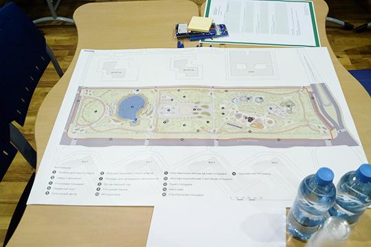 «Идея этого парка основывалась на том, что в этом микрорайоне нет выделенного центра. А благодаря этому парку становится возможно создать точку притяжения для всего микрорайона»