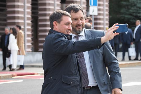 Два участника нашего рейтинга— челнинецОлег Коробченко(51) (справа) иАльмир Михеев(81) приняли участие впрезидентской гонке ивложили внее немалые ресурсы
