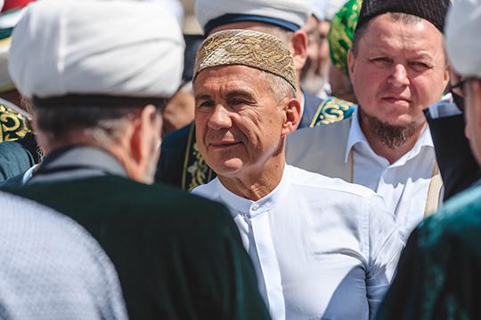 Президент ТатарстанаРустам Нургалиевич Миннихановотметил, что в2022 году предполагается торжественно отметить 1100-летие принятия ислама вБулгарии