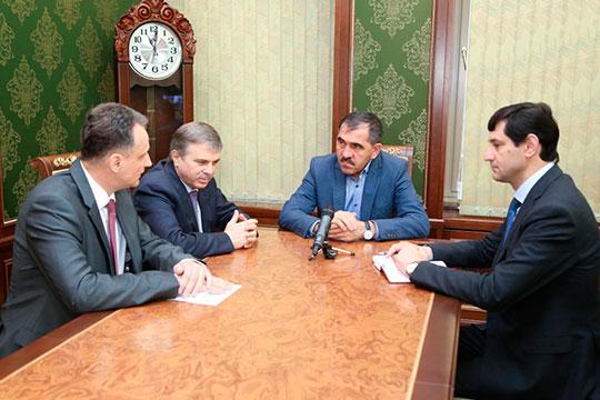 Был построен завод в ингушском Карабулаке, который был организован по иной схеме: он был передан на баланс ингушских властей, а «Техстрой» стал его арендатором