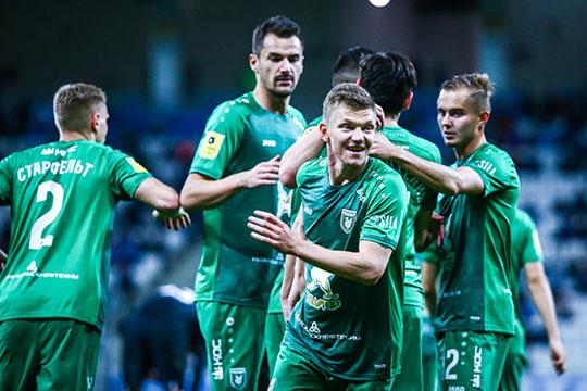 В матче 9-го тура чемпионата России «Рубин» уверенно выиграл у «Ротора» со счётом 3:1, тем самым доказав свой статус фаворита перед игрой
