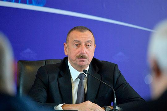 Ильхам Алиев заявил, что будет решать карабахский вопрос только путем полного освобождения этой территории от армянских войск