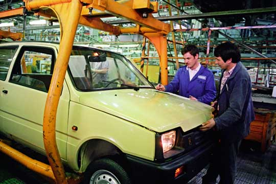 «Ока» производилась вЧелнах наЗаводе малолитражных автомобилей, который был основан в1987 году как дочернее предприятие ОАО«КАМАЗ»