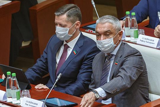 Компания «АгроИнвест» депутата Госсовета РТ Раиса Сулейманова (справа) (директор и учредитель на 100%) — на четвертом месте по валовому сбору зерна в республике