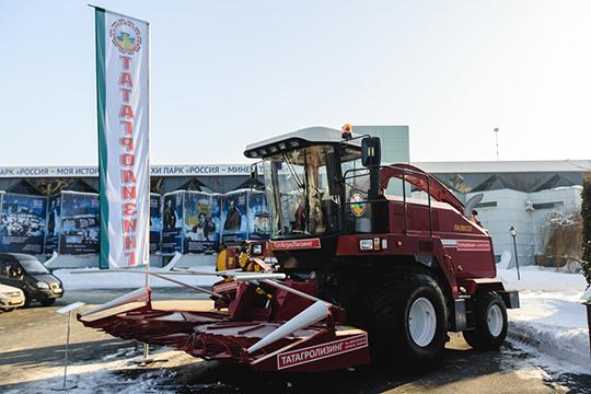 Большое производство зерна также у АО «Татагролизинг» (9). Компания создана в 2005 году после преобразования госкомпании «Татагропромкомплект»