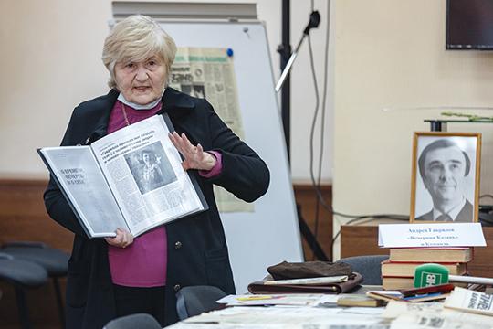 Любовь Агеева: «Вечерка» билась за то, чтобы в столице Татарстана не было построено опаснейшее производство — биохимзавод, чтобы не появилась в республике атомная станция (а ее уже начали строить)»