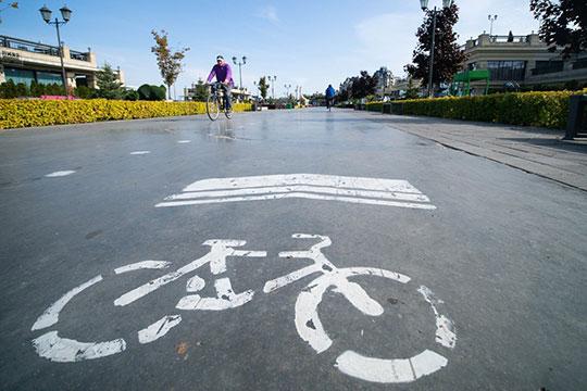 «Протяженность обустроенных велодорожек составляет более 12 км»