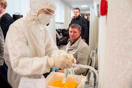 Вреспублике неуменьшается объем тестирования накоронавирус. Так, запоследние сутки обследовано 5764 человека