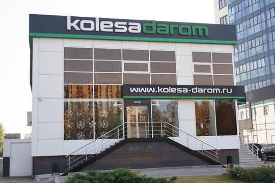 Двагода подряд сеть«Колеса Даром.Ru»входит втоп-50 самых быстрорастущих компаний России поверсии аналитического агентстваРБК