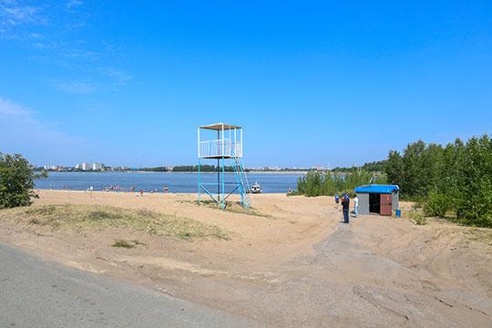 «Первое решение по Волге — это пляж Локомотив. По поручению президента РТ разрабатывается концепция общественных пространств на этой территории»