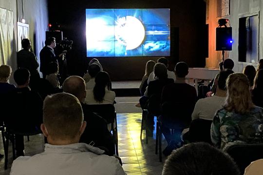 В этом году наша Дирекция в третий раз стала участником бизнес-площадки на Московском международном кинофестивале, которую проводит Молодежный центр Союза кинематографистов России
