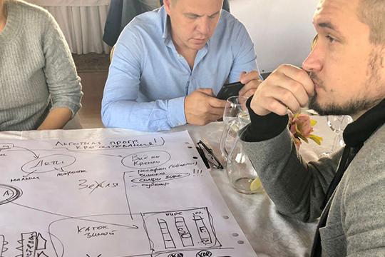 На встрече в ресторане «Круиз» архитектор Екатерина Гольдберг, партнер архитектурной студии Orchestra, предложила интересную стратегию обсуждения проекта — в малых группах