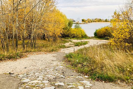 Набережная «Манзара» — один из 12 участков потенциального национального парка у Казанки