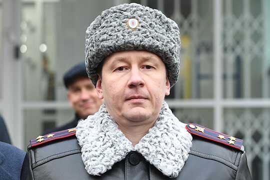 Начальник казанского отдела полиции «Сафиуллина» Алексей Ершов угодил в базу данных федерального розыска