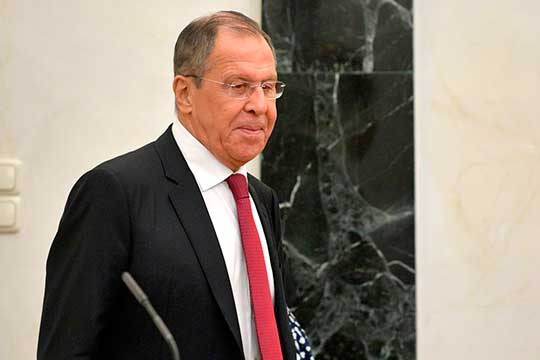 Сергей Лавров: «Спекулируют беспардонно, как наперсточники»