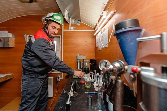 У«СБК-Техносервис» есть собственная линейка буровых растворов для скважин отпростых докрайне сложных