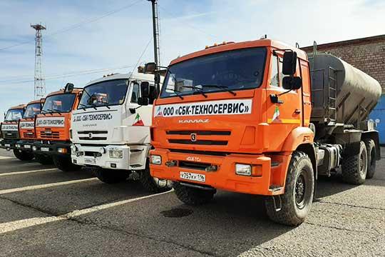 «СБК-Техносервис» работает вТатарстане исоседних регионах более 15лет. Среди заказчиков—такие крупные операторы, как ПАО«Татнефть» иНК«Роснефть» (АНК «Башнефть»)
