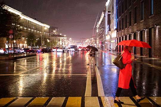 «Адальше все нетак радужно. Следующая неделя будет довольно холодной, пройдут кратковременные дожди, всреду-четверг неисключены осадки ввиде дождя имокрого снега»