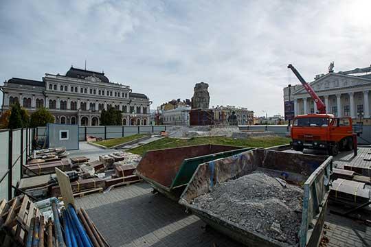 Неделю назад памятник Ленину на площади Свободы в Казани покинул постамент для реставрации, которая обойдется в 43,6 млн рублей