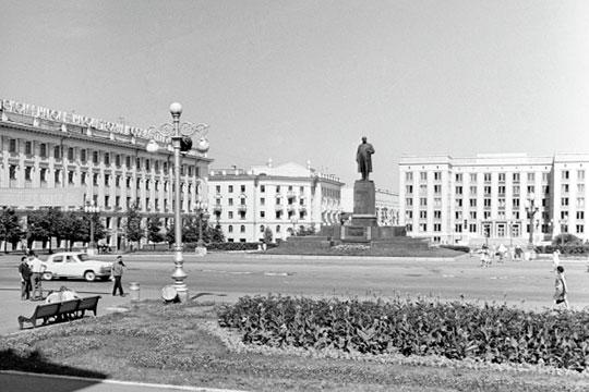 Место для большого памятника Ленину в Казани искали с 1940 года