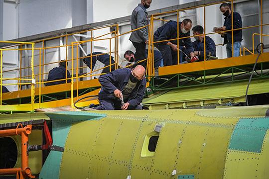 На Казанском авиазаводе — филиале ПАО «Туполев» (КАЗ) до конца года сократят 10% коллектива