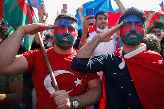 Вцелом, Турция единодушна вподдержке азербайджанской стороны