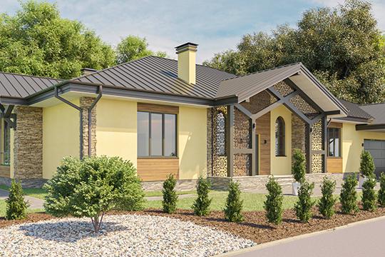 «Все дома будут изсовременных материалов, аобъединять ихбудет одно— единый архитектурный стиль иоригинальные формы»